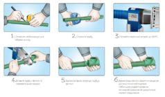 Как сварить трубы из полипропилена работа паяльником