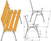 Как сделать скамейку своими руками из металла