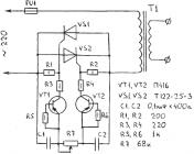 Простой регулятор тока сварочного трансформатора