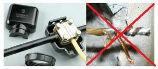 Как соединить медь и алюминий в электропроводке