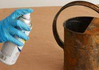 Как снять ржавчину с металла